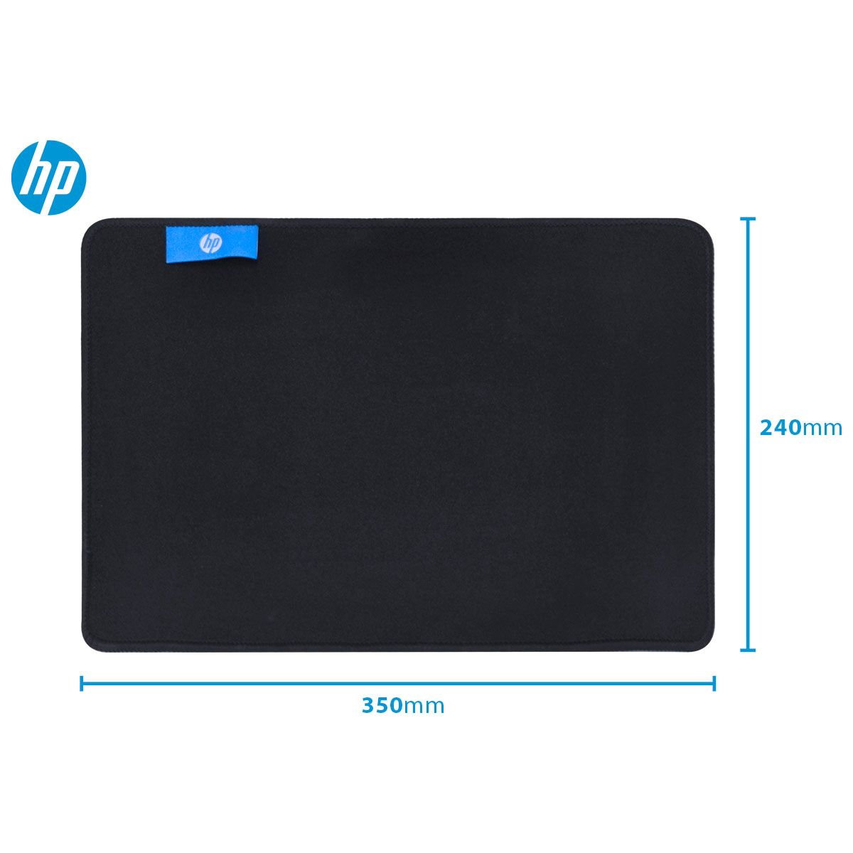 MOUSE PAD HP GAMER MP3524 BLACK - PEQ - 350X240X4MM