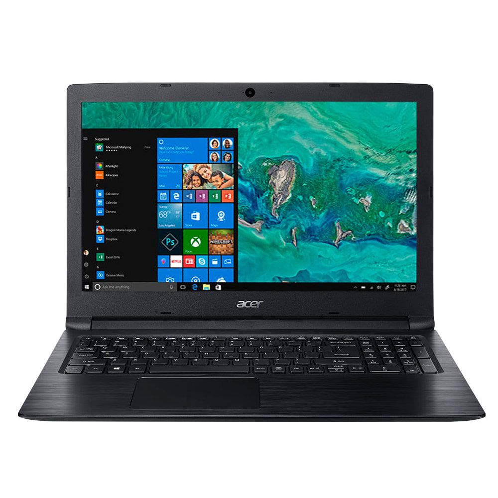 NOTEBOOK ACER 15,6 LED  I3-7020U 4GB 1TB WINDOWS 10 SL TEC NUMERICO - A315-53-333H