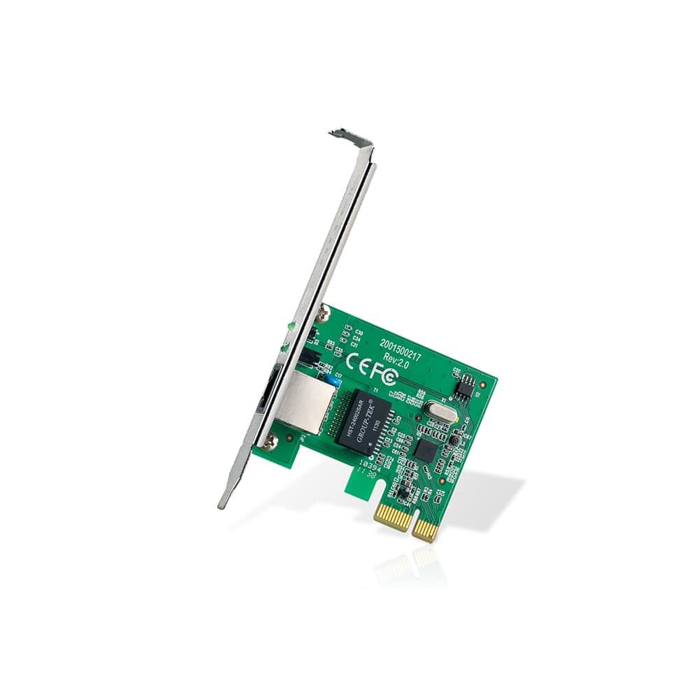 PLACA DE REDE TP-LINK TG-3468 PCI-E 10/100/1000 MBPS PERFIL BAIXO