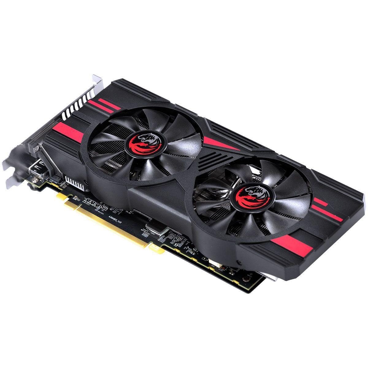 PLACA DE VIDEO AMD RX580 8GB PCYES RADEON 8GB DDR5 256 BITS DUAL-FAN GRAFFITI SERIES - PJ580RX25608G5DF