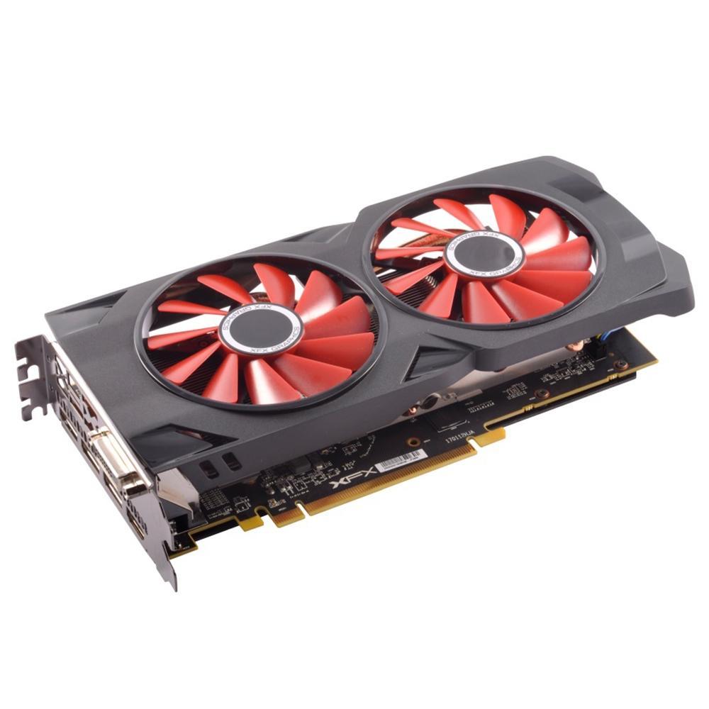 PLACA DE VIDEO XFX RX 570 8GB XXX EDITION DDR5 1286MHZ RX-570P8DFD6