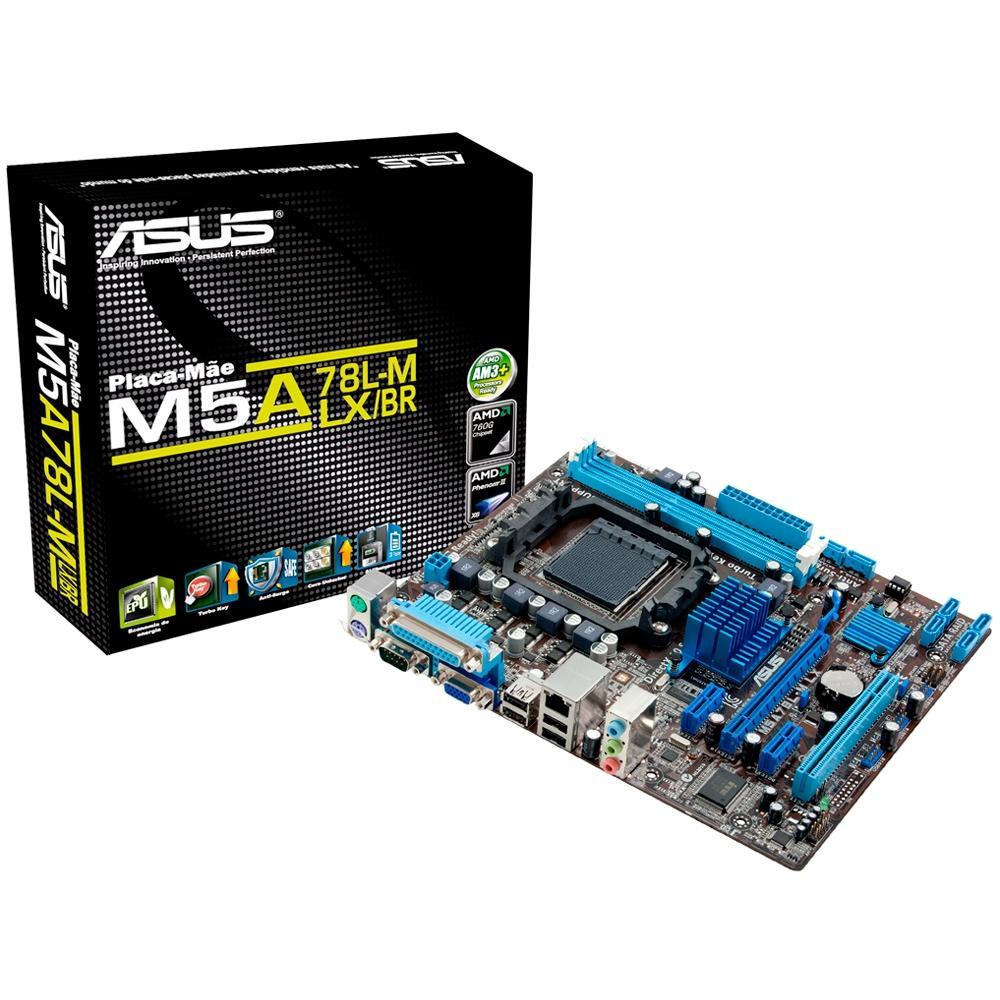 PLACA MAE ASUS AM3+ M5A78L-M LX/BR
