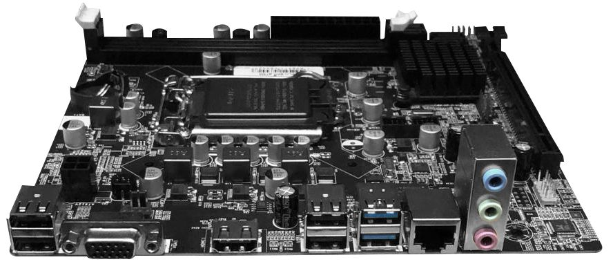 PLACA MAE BRAZILPC 1155 BPC-B75M-GV1.4 (2XDDR3/1XVGA/1HDMI/2XUSB3.0/1XREDE) OEM I