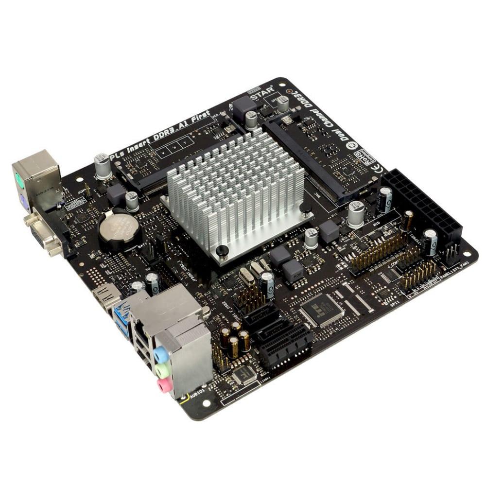 PLACA MAE COM PROCESSADOR BIOSTAR J3060NH DDR3L MINI ITX HDMI VGA