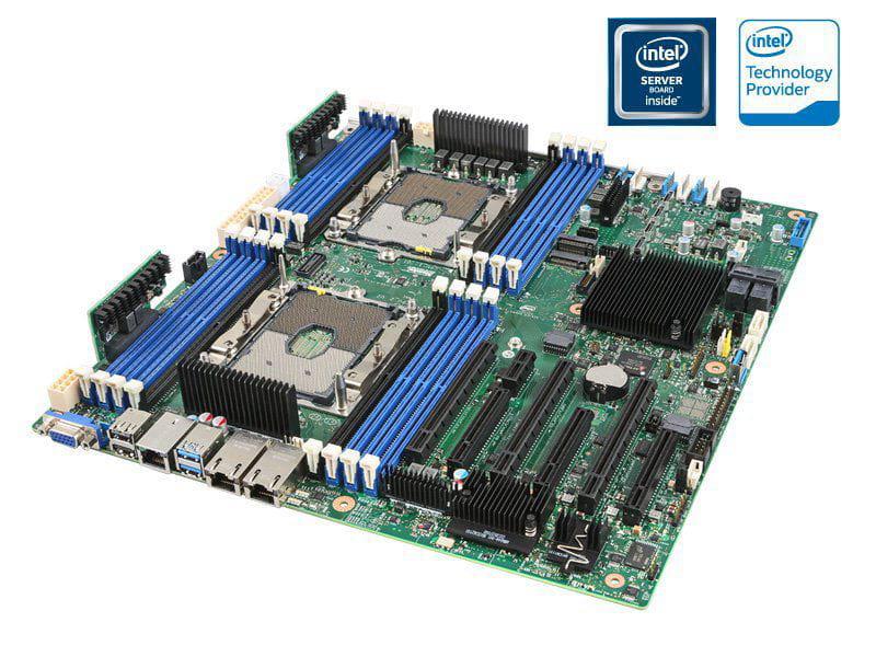 PLACA MAE SERVIDOR S2600TBR DUAL XEON DDR4 LGA3647