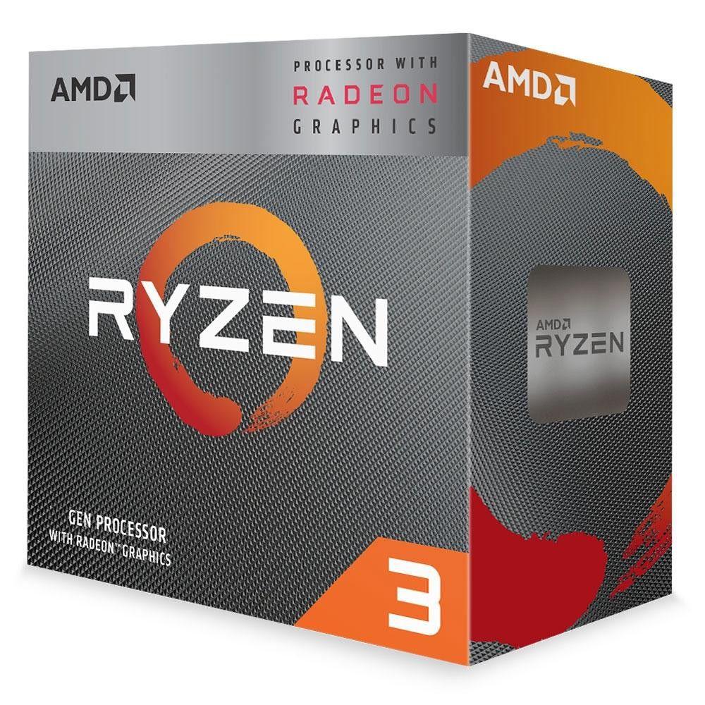 PROCESSADOR AMD RYZEN R3 3200G AM4 3.6GHZ 4MB