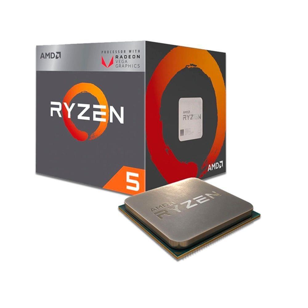 PROCESSADOR AMD RYZEN R5 3400G AM4 3.7 GHZ 4MB
