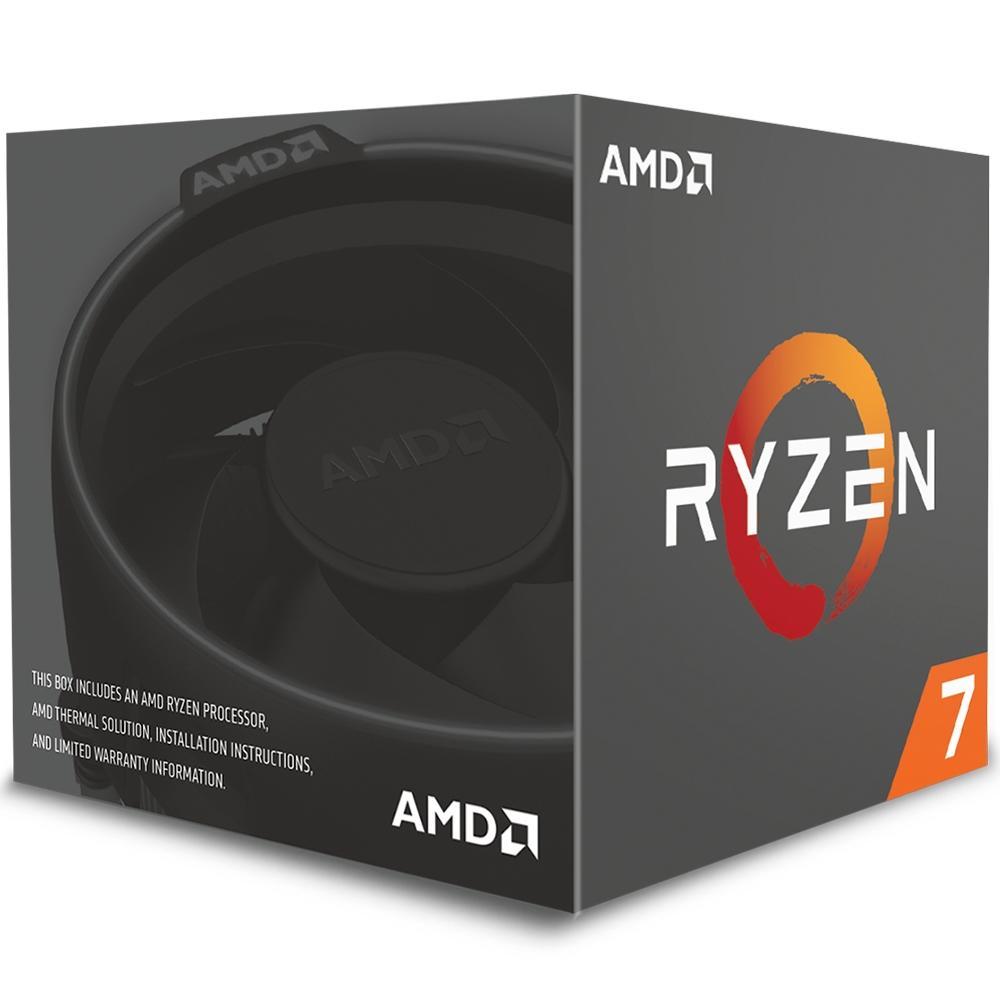 PROCESSADOR AMD RYZEN R7 2700 AM4 4.1GHZ 16MB