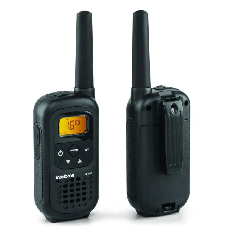 RADIO COMUNICADOR INTELBRAS RC4002 PRETO