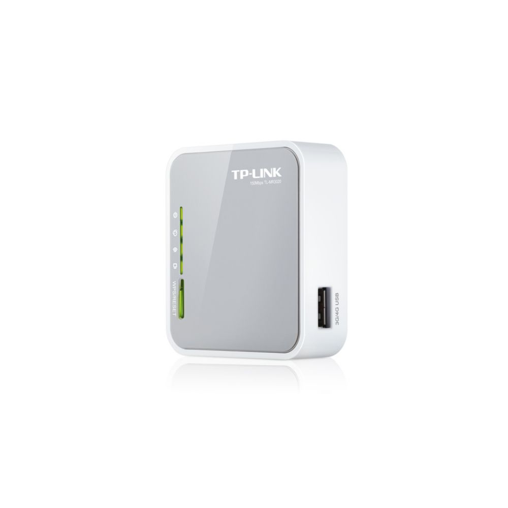 ROTEADOR PORTÁTIL TP-LINK TL-MR3020 3G/4G WIRELESS 3.75G 150MBPS