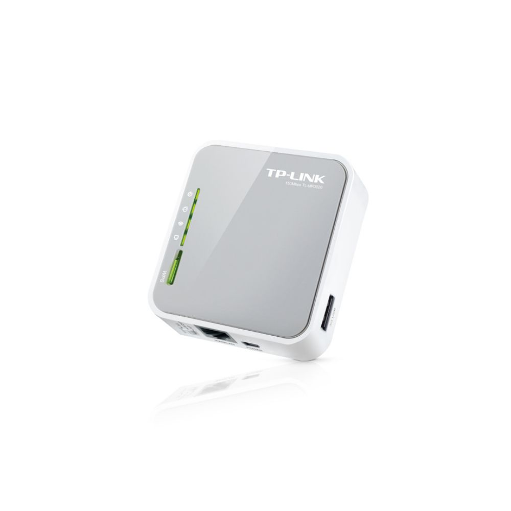 ROTEADOR PORTÁTIL TP-LINK TL-MR3020 3G/4G WIRELESS 3.75G 150MBPS
