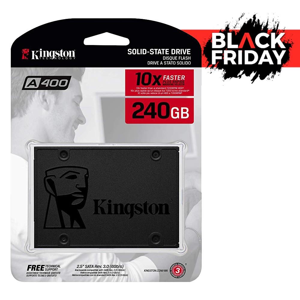SSD KINGSTON 240GB SATA III A400 Black