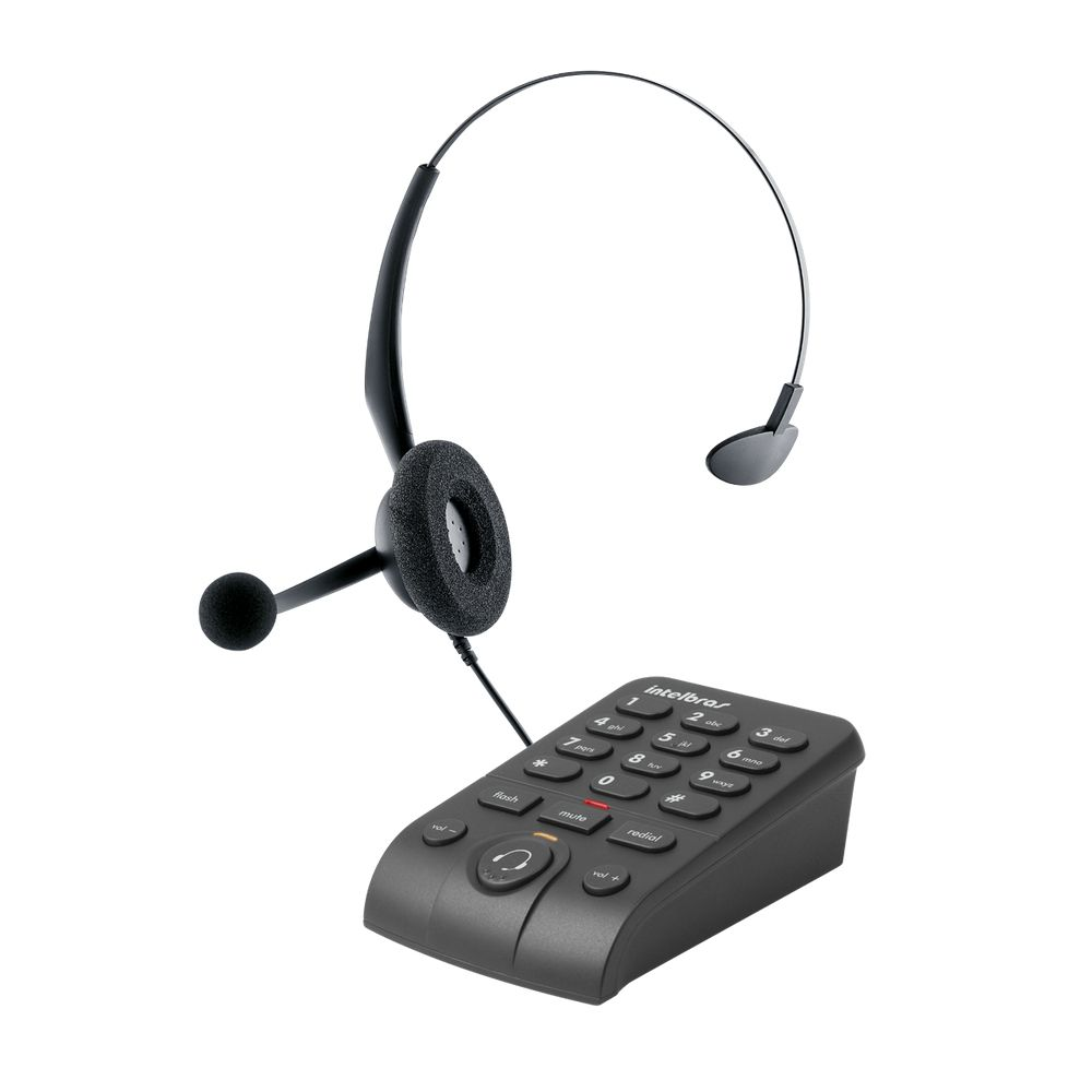 TELEFONE HEADSET INTELBRAS HSB50 EMBORRACHADO ICON 4013330