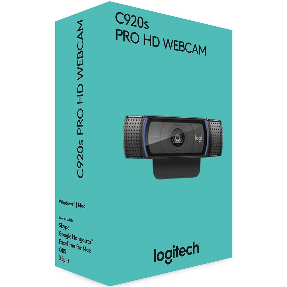 WEBCAM LOGITECH HD C920S 1080P