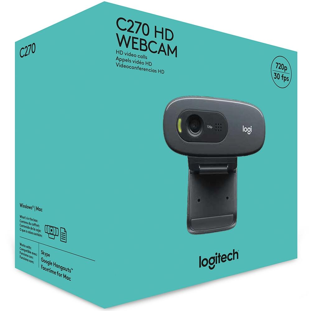 WEBCAM LOGITECH HD USB C270 960-000691