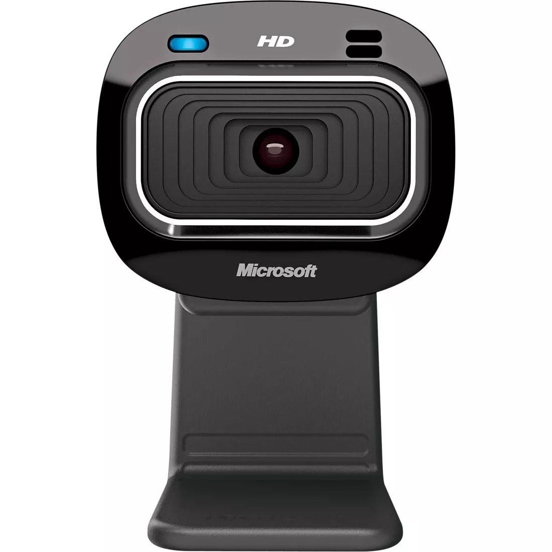 WEBCAM MICROSOFT LIFECAM HD-3000 720P T3H-00011 PRETA