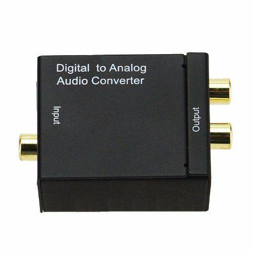Conversor de Áudio Digital Óptico para RCA Analógico
