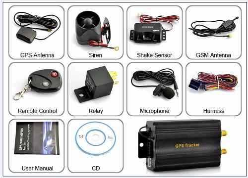 Rastreador e Bloqueador Veicular Localizador GPS - Tk103