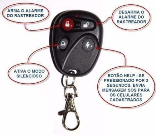 Rastreador e Bloqueador Veicular GPS Carro e Moto - Tk-303