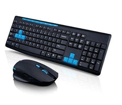 Teclado E Mouse Sem Fio Wireless 2.4 Ghz 1000Dpi Hk3800