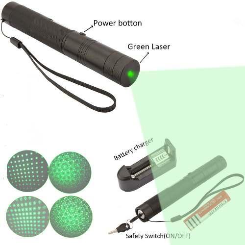 Super Caneta Laser 303 Luz Verde