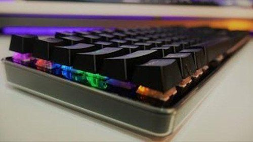 Teclado Gamer Semi Mecanico Luminoso Led ZYG-800