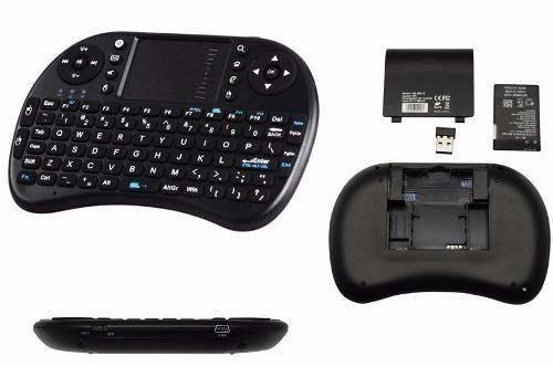 Mini Teclado Multimidia Sem Fio com Touchpad