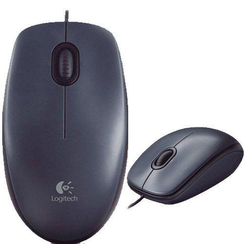 Mouse Óptico 1000dpi Usb 2.0 Preto M90 Logitech