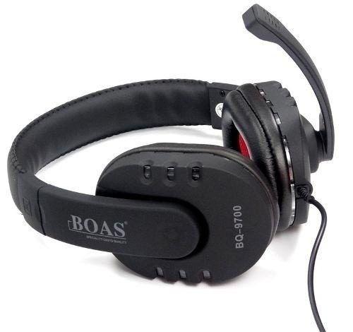 Fone com Fio Headset Usb Stereo Pc Ps3 Xbox Notebook Boas Bq9700