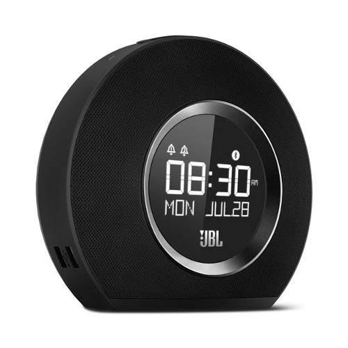 Caixa Som Rádio Relógio Bluetooth Luz Ambiente Horizon JBL