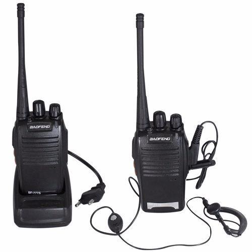 Radio Comunicador Walk Talk com Fone De Ouvido - Bf-777s Baofeng