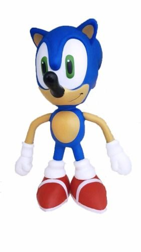 Boneco Sonic Collection Super Size - Colecionável - 23cm