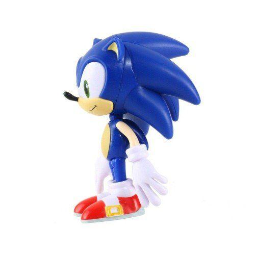 Boneco Sonic Collection Super Size - Colecionável - 23cm