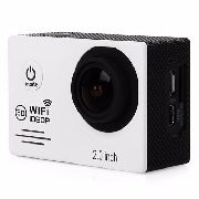 Câmera Wifi Esportiva 1080p Full Hd 12mp Lcd 2.0 Action Cam