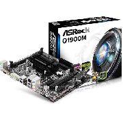 Placa Mãe com Processador Intel Quad Integrado - Q1900m Asrock