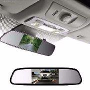Espelho Retrovisor Com Monitor Para Câmera De Ré