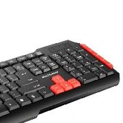 Teclado Gamer Multilaser Sem Fio Gamer Red Keys - Tc191