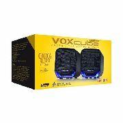 Caixa De Som Para Computador Notebook P2 Led Voxcube Vc-d360
