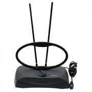 antena para tv digital e analógica  e sinais de rádio Fm rca ant121