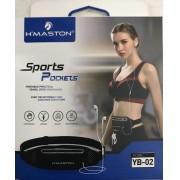Bolsa Pochete Sports Pocket com Tecido Impermeável - H'maston Yb-02