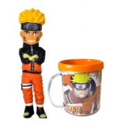 Boneco Naruto 15cm + Caneca 350 Ml