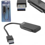 Cabo Conversor Adaptador para SSD/HD 2.5 Notebook USB 3.0 6TB