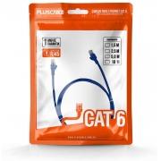 Cabo de Rede PlusCable CAT 5e 5m RJ45 Azul