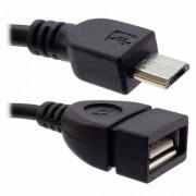 cabo otg adaptador de celular com entrada v8 e com saída usb