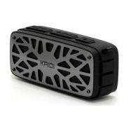 Caixa De Som Bluetooth Recarregável 6w Usb P2 Fm Kaidi Kd 812
