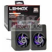 Caixa de Som Estéreo para Computador GT-S1 - Lehmox