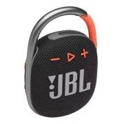Caixa de Som Portátil JBL CLIP 4 Preto
