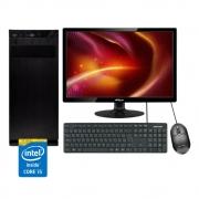 Computador Completo Intel i5 - 4Gb Ram - Monitor 17,1''
