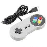 Controle Snes Usb Super Nintendo Pc Notebook Computador
