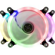 Cooler Fan LED Colorido RGB Ring Para Gabinete Bluecase